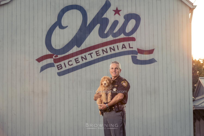 dog portraits columbus ohio