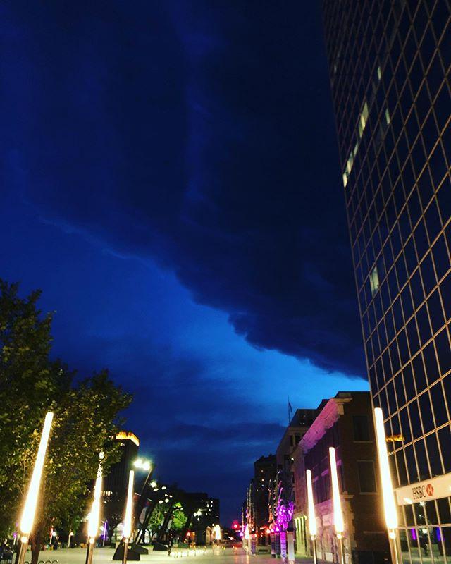 Downtown #yqr #storm @yqrblog @yqr