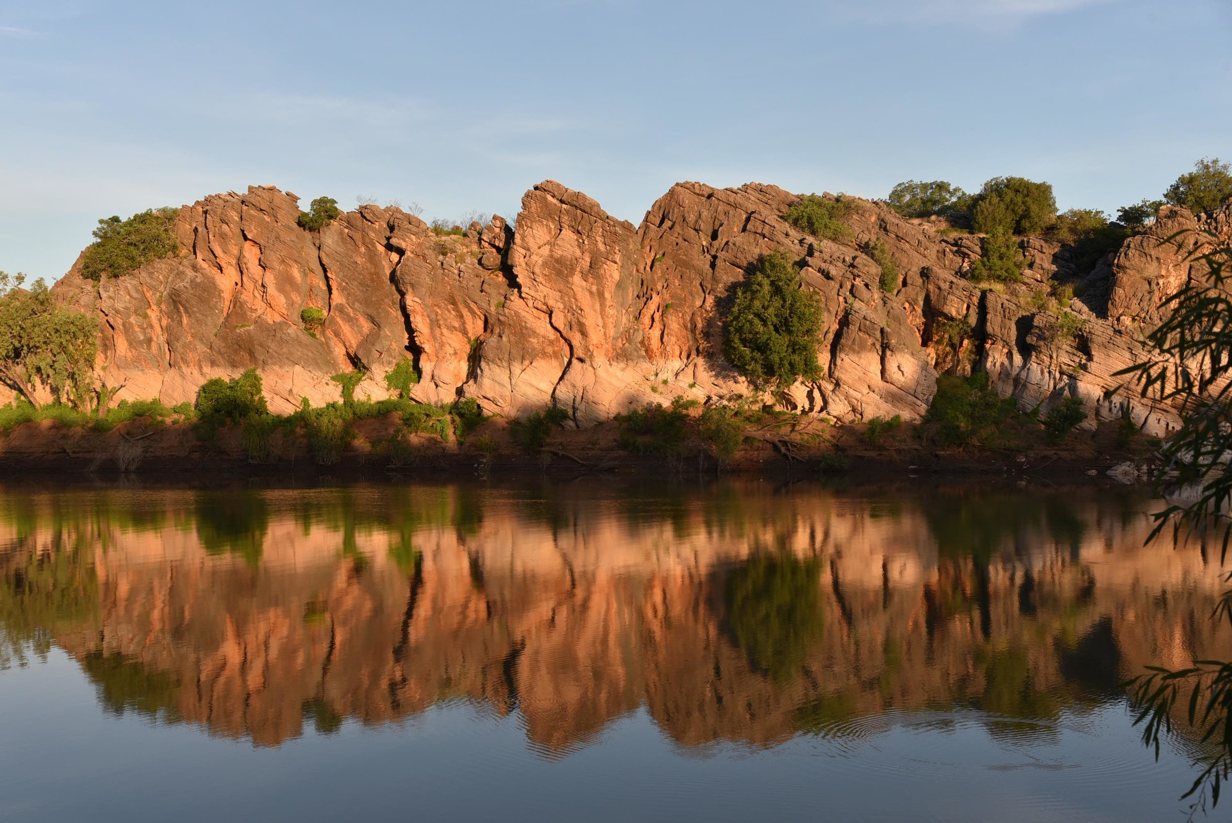 Danggu Geikie Gorge on Bunaba country in the Kimberley. Photo by Charlotte Dickie @charbllavita.