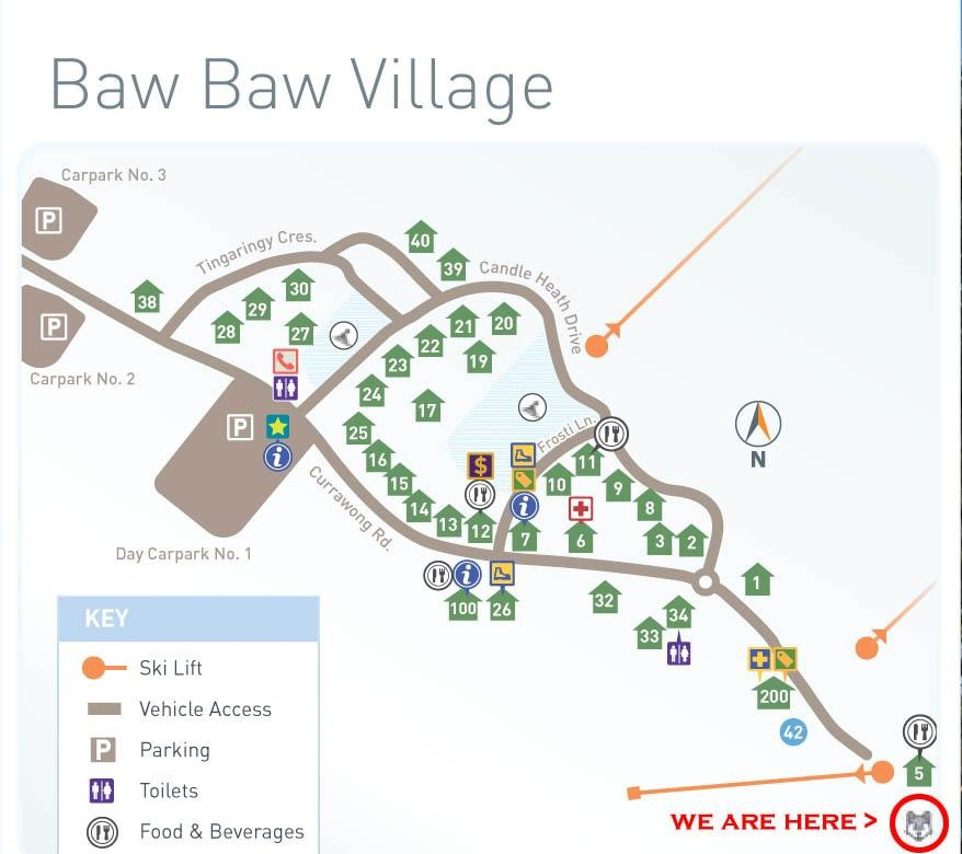 MT. BAW BAW MAP