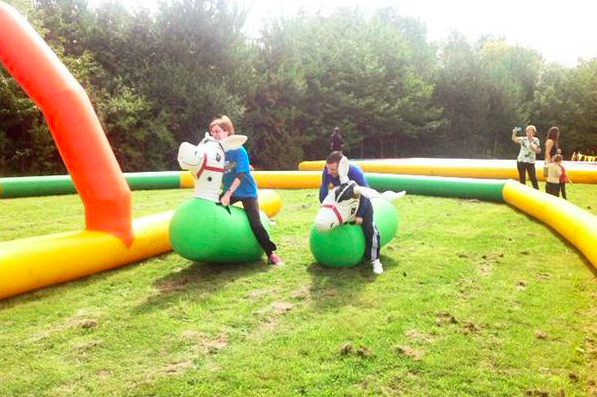 Inflatable Horse Racing - How much fun can we bring to one event!!on your marks... get ready... bounce!We have inflatable horses for all ages.This is a great attraction for country horse racing meets, large or small events, children's parties you name it this is a fun game to have there!For prices please contact us with your event location and details and we will send back a quote.Inflatable horses are only hired out with an operator.