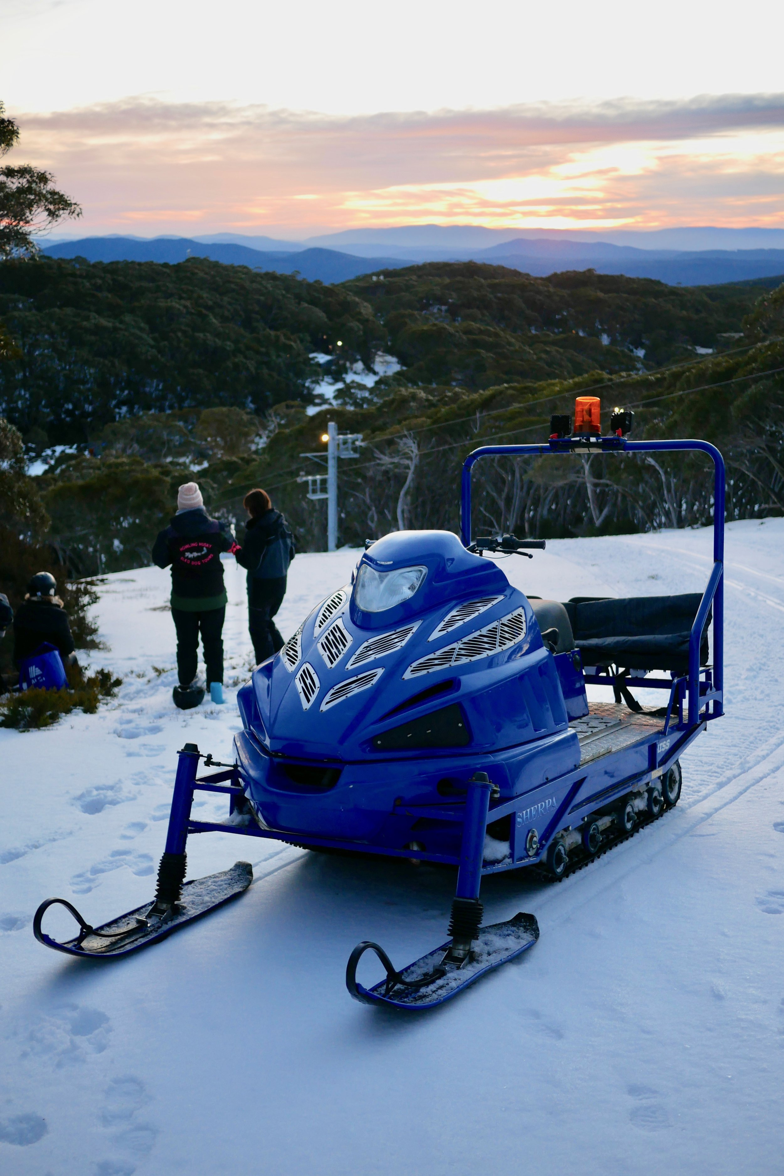 Sherpa on Big Hill -