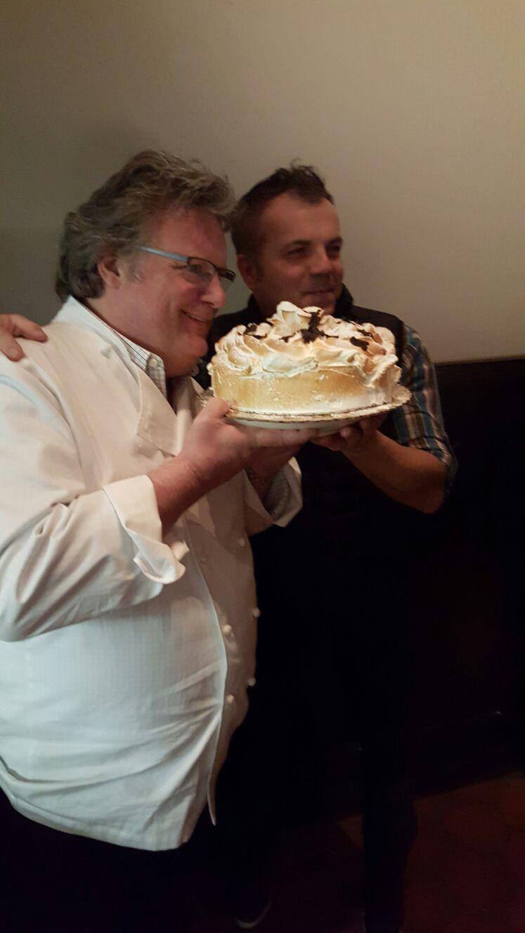 David Burke & Raffaele Solinas