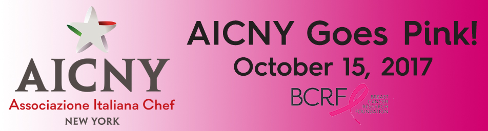 The  AICNY  invites you to  Go Pink  in support of breast cancer awareness month! Join us October 15th in Little Italy for a delicious celebration in support of breast cancer research. Located in the courtyard of the Most Precious Blood Church, experience 12 amazing chefs at 12 separate stations cooking delicious pasta in a parmesan wheel. Sample them all while you support the critical research needed to find a cure for breast cancer.   Ticket Prices: $25 per person for 4 Pasta Tasting Stations   This event will support the Breast Cancer Research Foundation and the Basilica of St. Patrick's Old Cathedral Church.