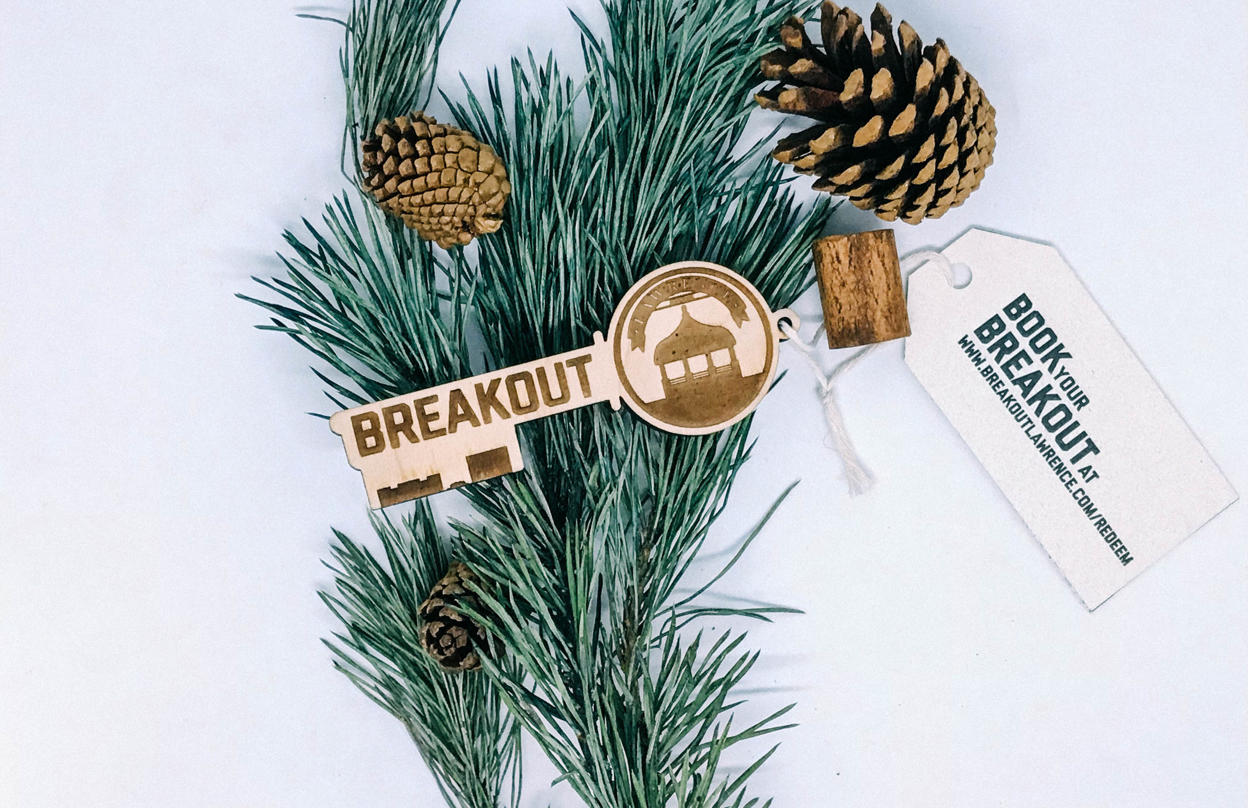 GIFT KEYS   Our eye-catching wooden gift keys are the perfect way to share the fun challenge of escape rooms with friends and family!  A great option for a lasting gift!