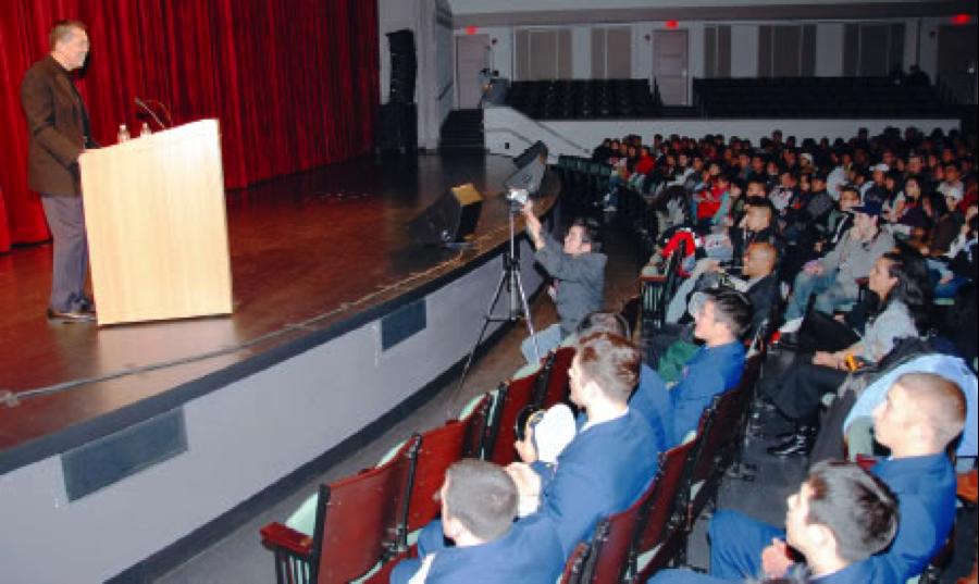 From the  2008 ECAASU Conference: Push Forward