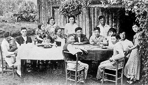 Japanese family in Bastos circa 1930.