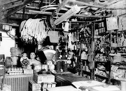 Store in São Paulo circa 1940.