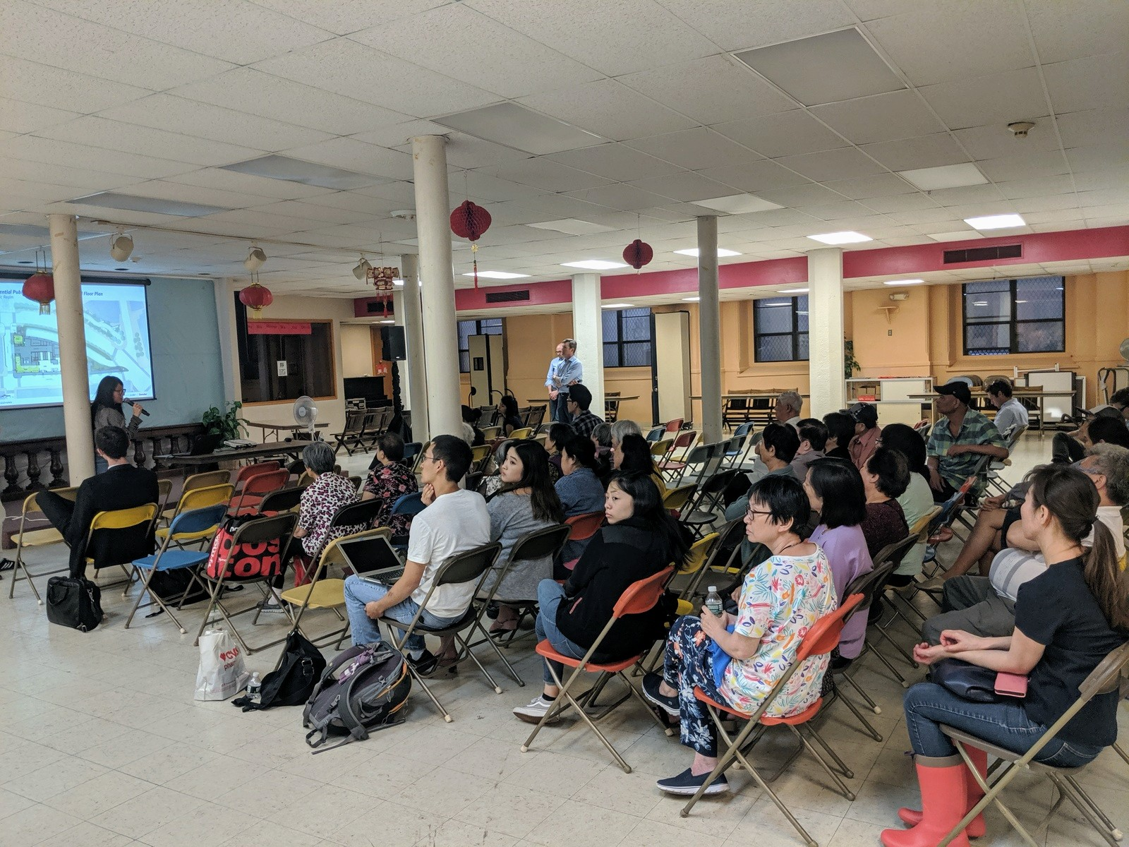 Attendees at Thursday's open meeting—the second meeting for public comment—voiced opposition to the development. (Photo courtesy of Wayne Yeh)