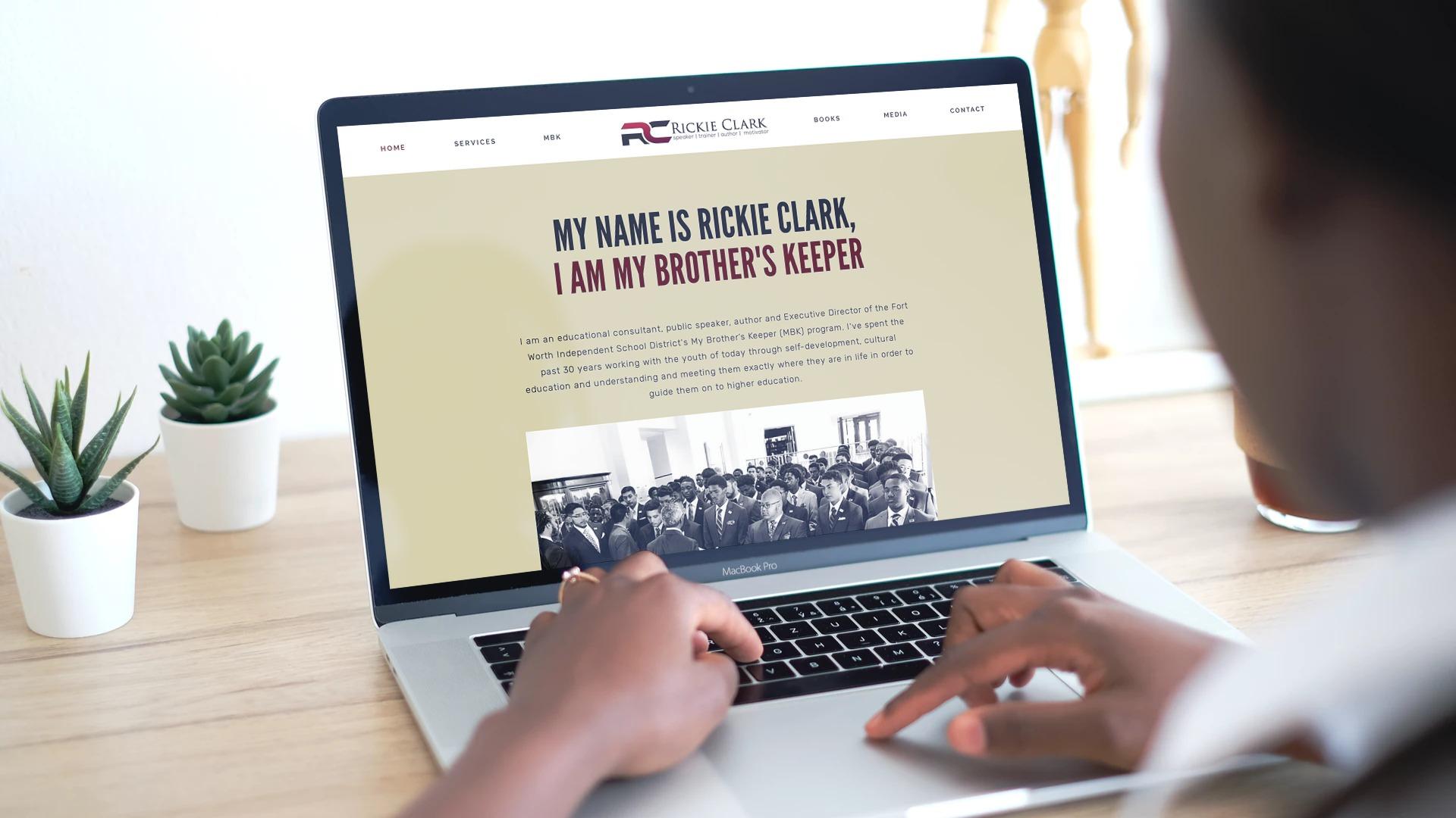 Rickie Clark | Speaker, Trainer, Author, Motivator