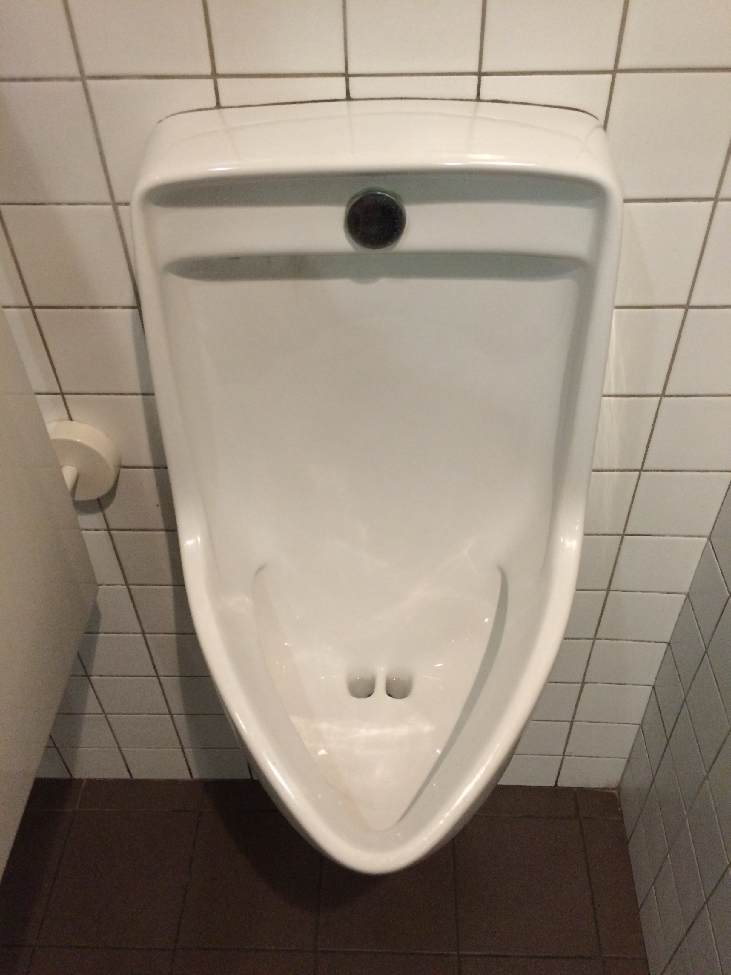This urinal at the museum had nostrils. I felt like that should be shared with the world.