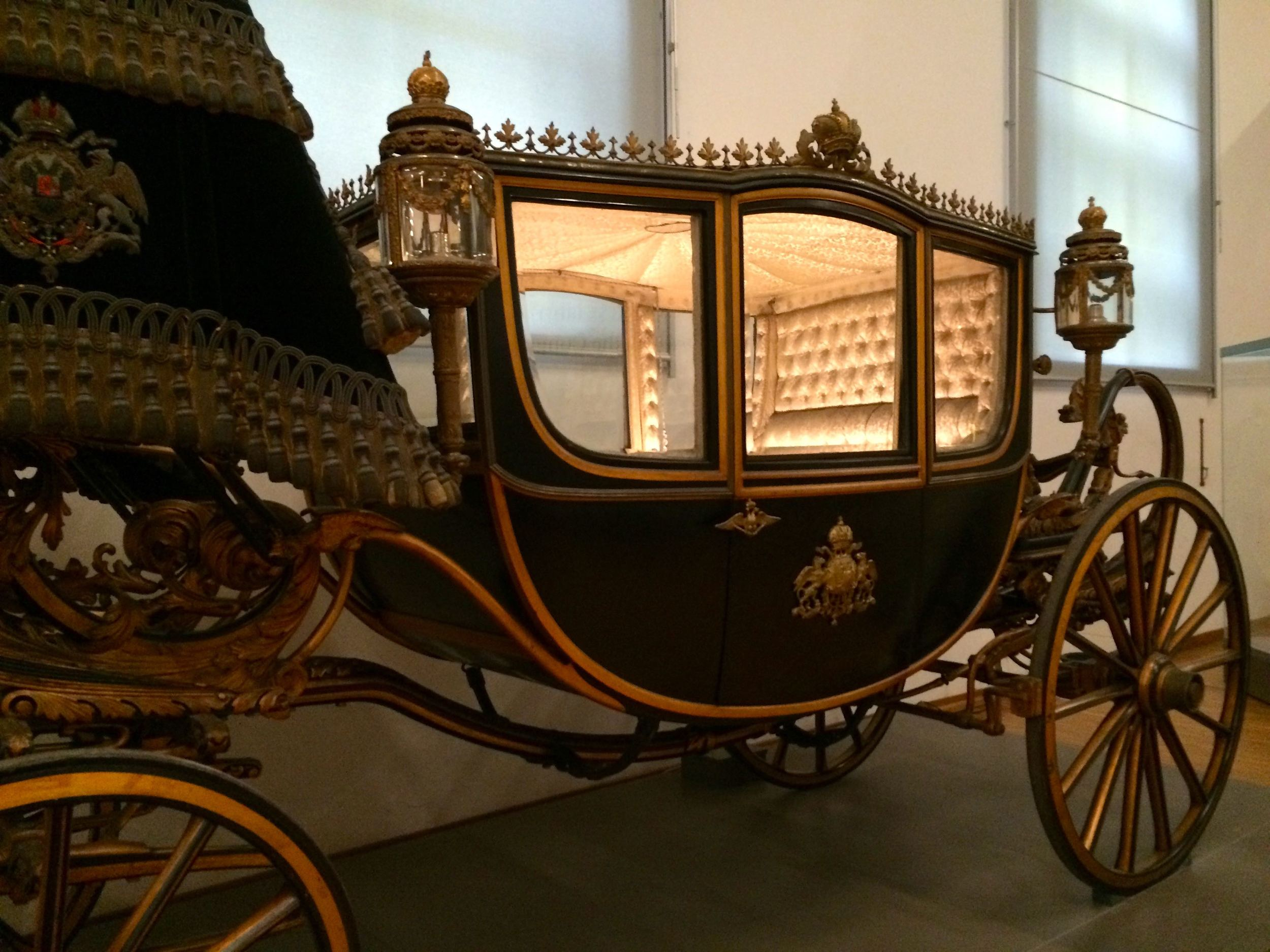 Can you imagine rolling down the street in this thing back in the day? Looking at all the peasants? Waving at all those sad, little people?