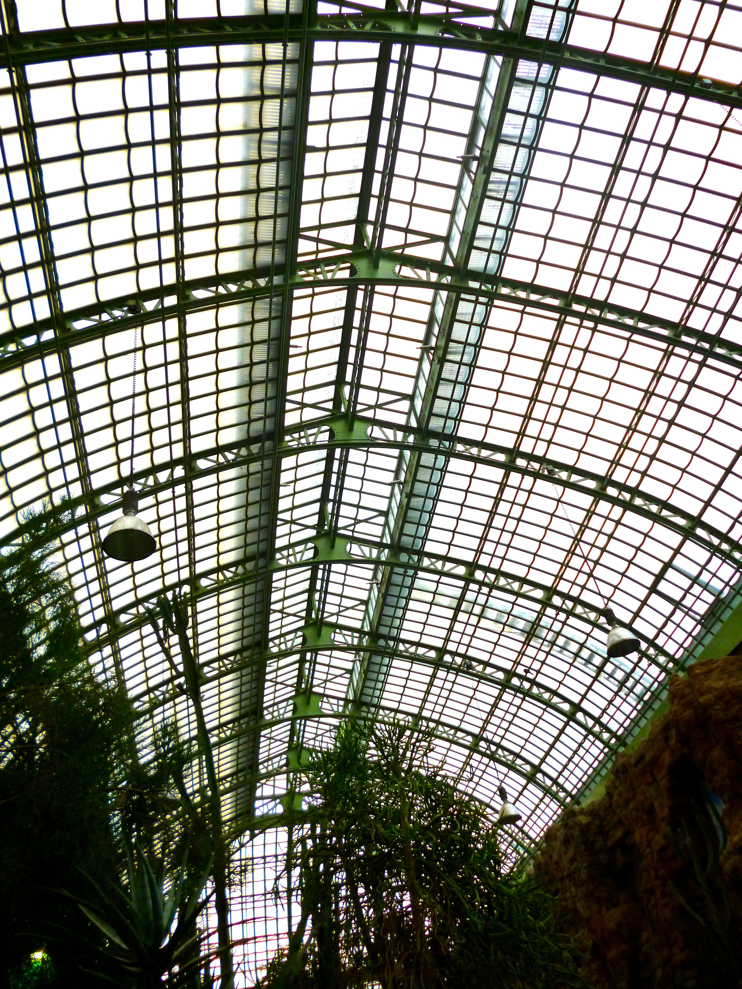 It's still used as a greenhouse. Though the plants aren't as inspired as the architecture.