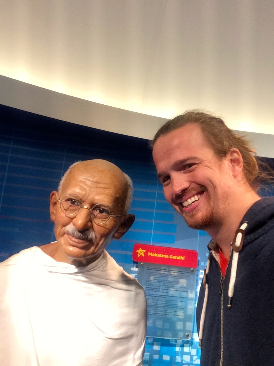 I loves me some Gandhi. He was into it too.