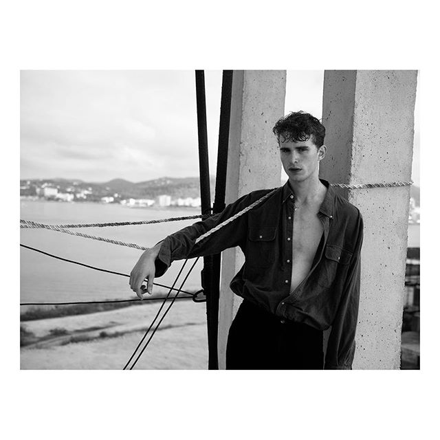 @nikolauslinsbichler #ibiza #malemodel #fashion #ootd