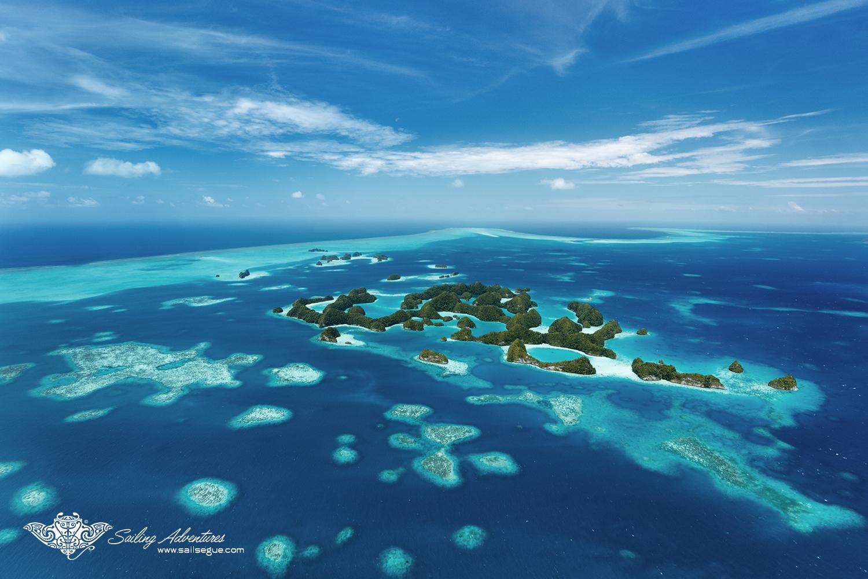 Amazing Rock Islands, Palau