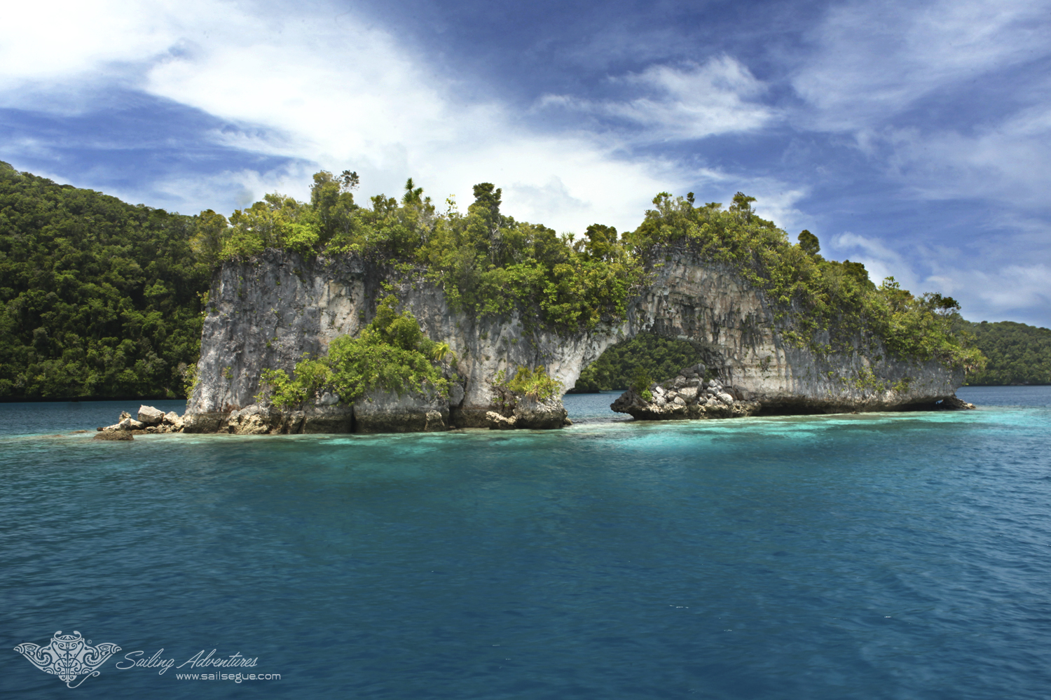In Palau, natural beauty is never far!