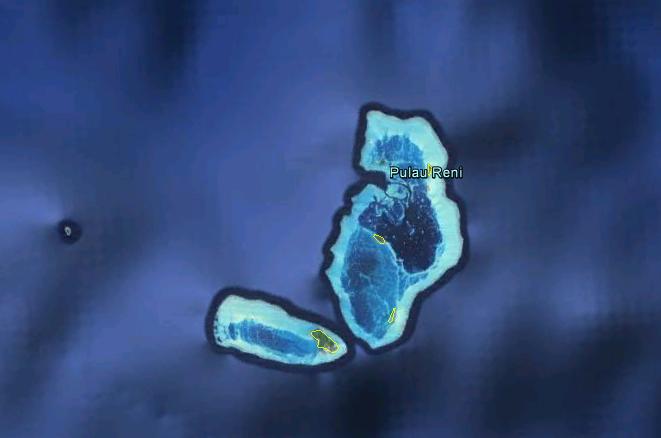 Palau Reni, Indonesia