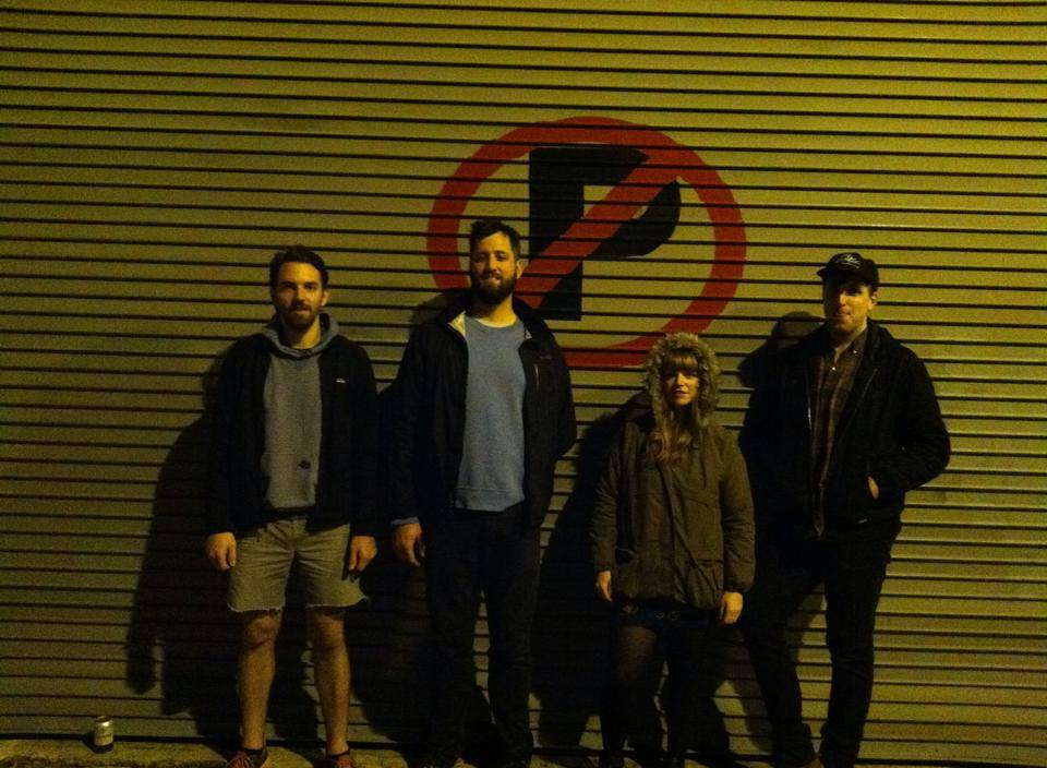 (Melkbelly, from L to R: James Wetzel, Liam Winters, Miranda Winters, Bart Winters. Photo by Eric McGrady).