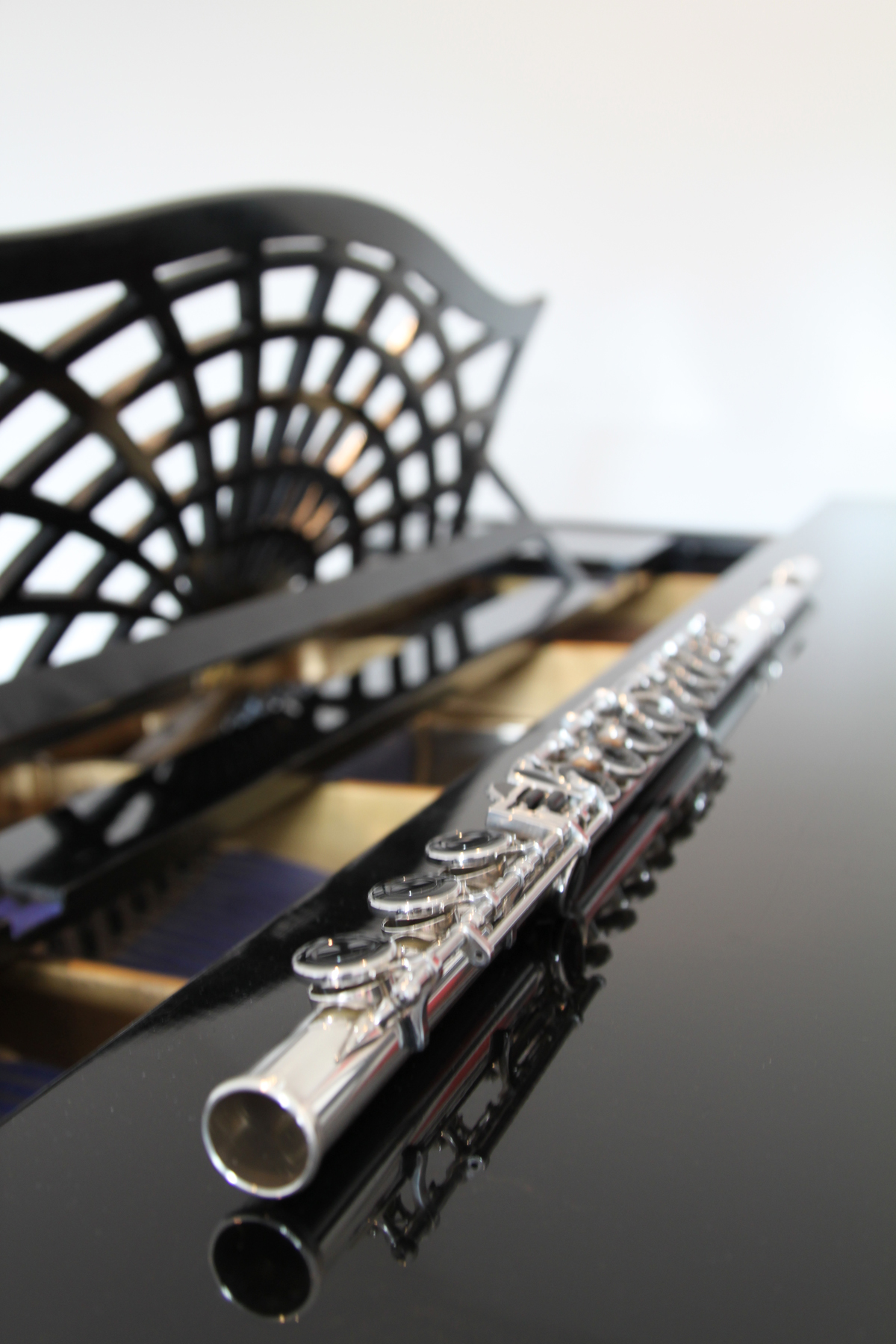 The flute is an immensely popular choice for students wanting to begin learning a musical instrument. Photo: Lucy Beveridge