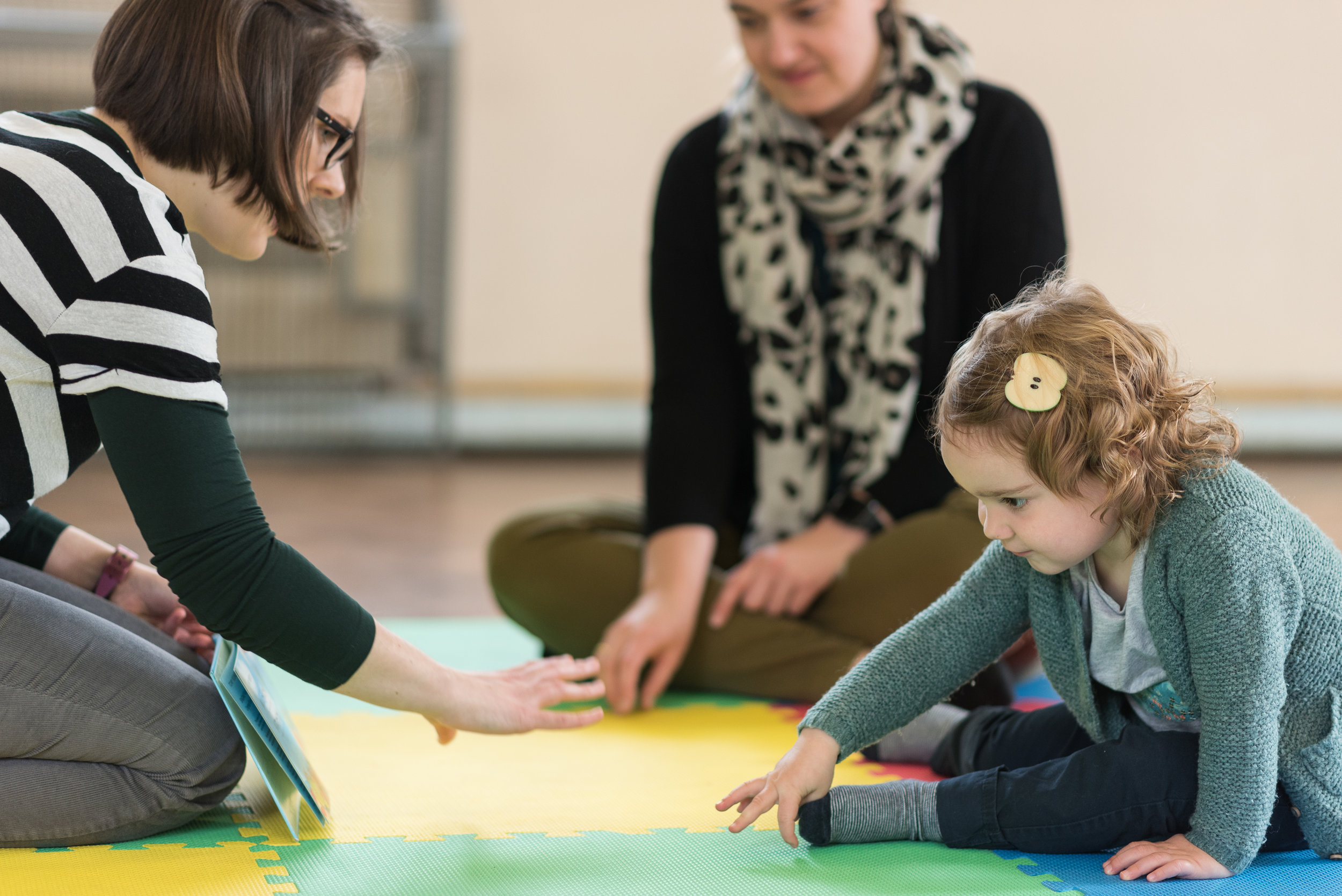 Training event: Making music with the 0-4s!