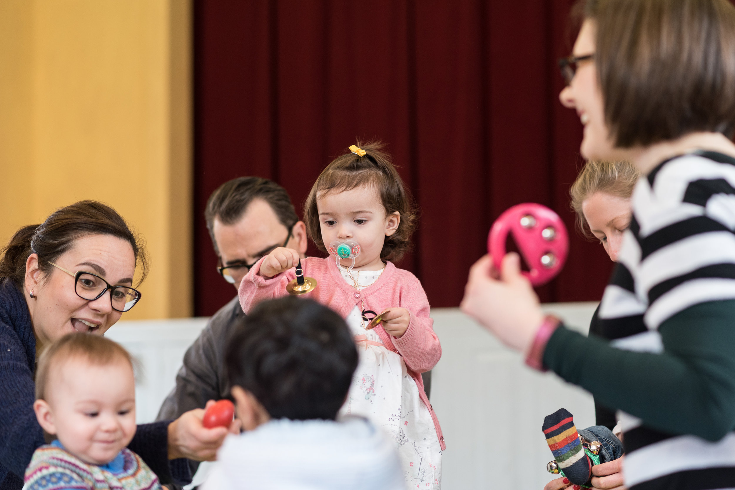Quality classes for babies & toddlers - Discover accessible, high quality music for babies & toddlers - and for parents!