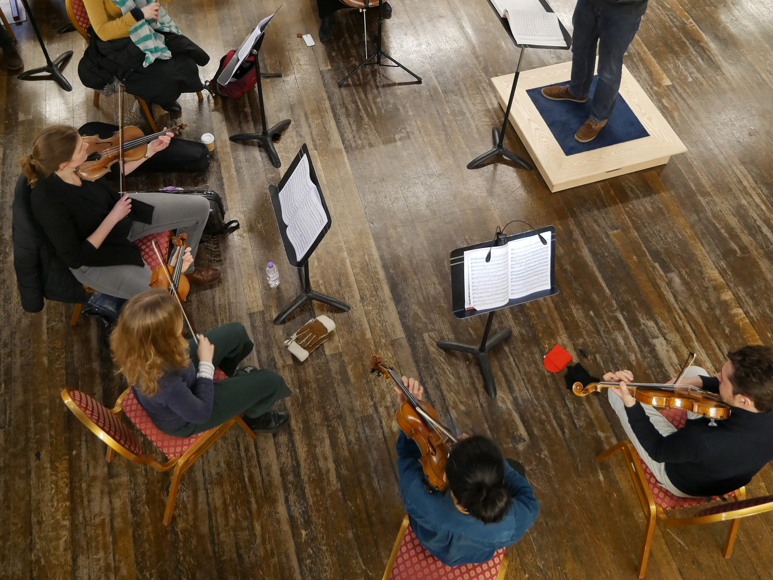 Mulberry Orchestra Sessions    Join other musicians to play music for orchestra and chamber ensemble.