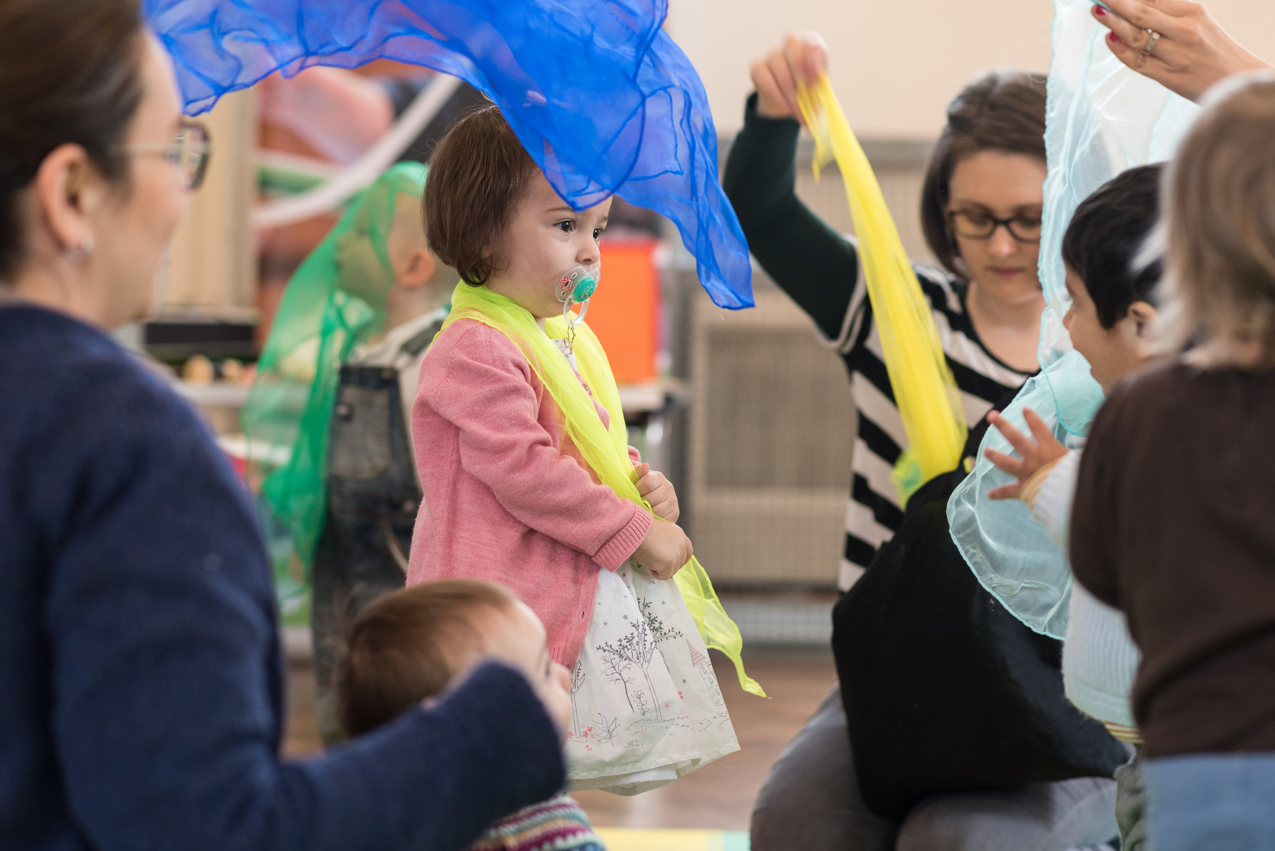Family Music, Cradlesongs & events - Ages 0-5
