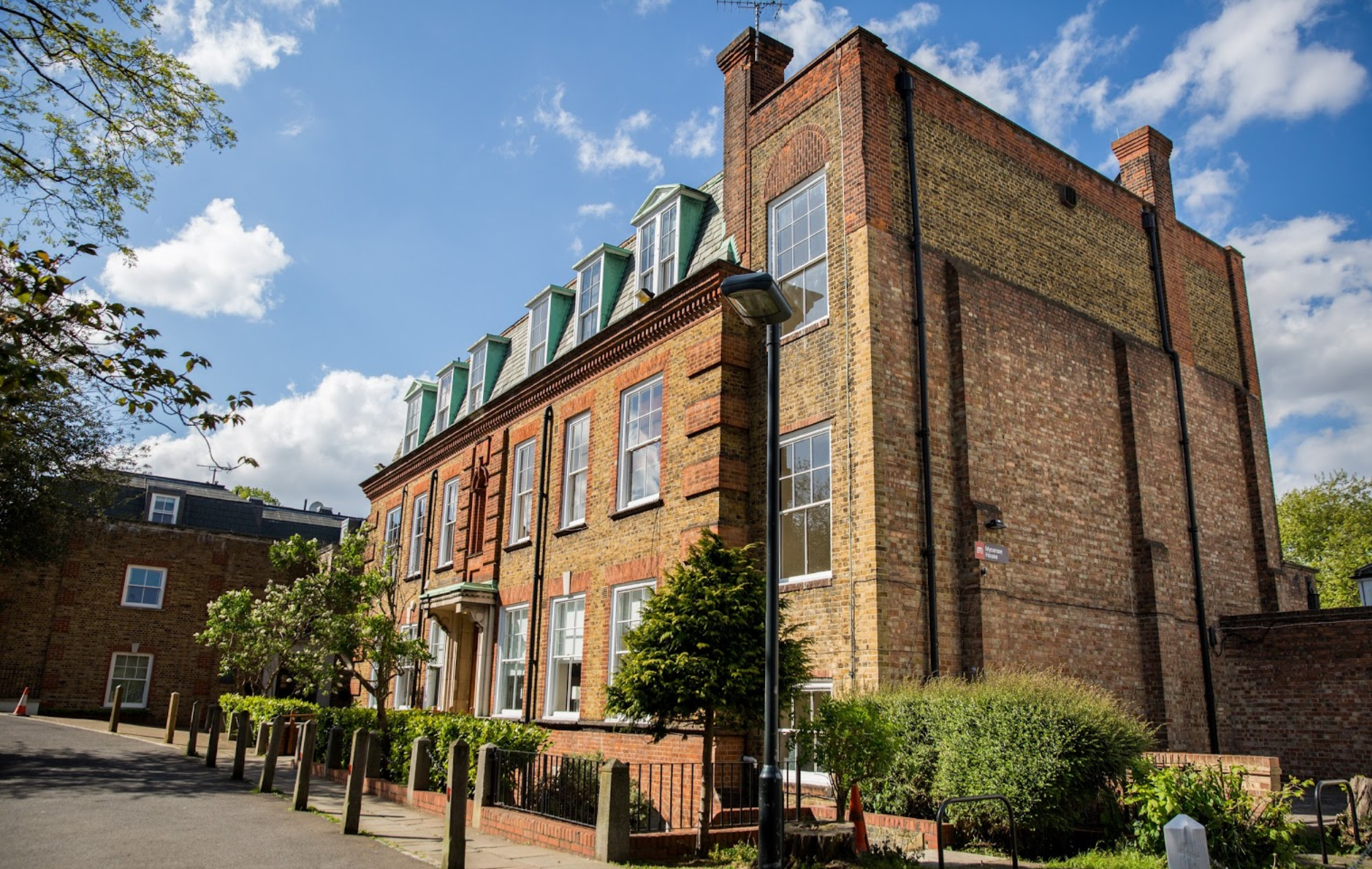 Mycenae House - Mycenae House is an historic building within the grounds of beautiful public gardens in the Blackheath Westcombe Ward in South East London.The House is a busy space with lots of family activities and events across its 23 rooms, hall and cafe/bar.