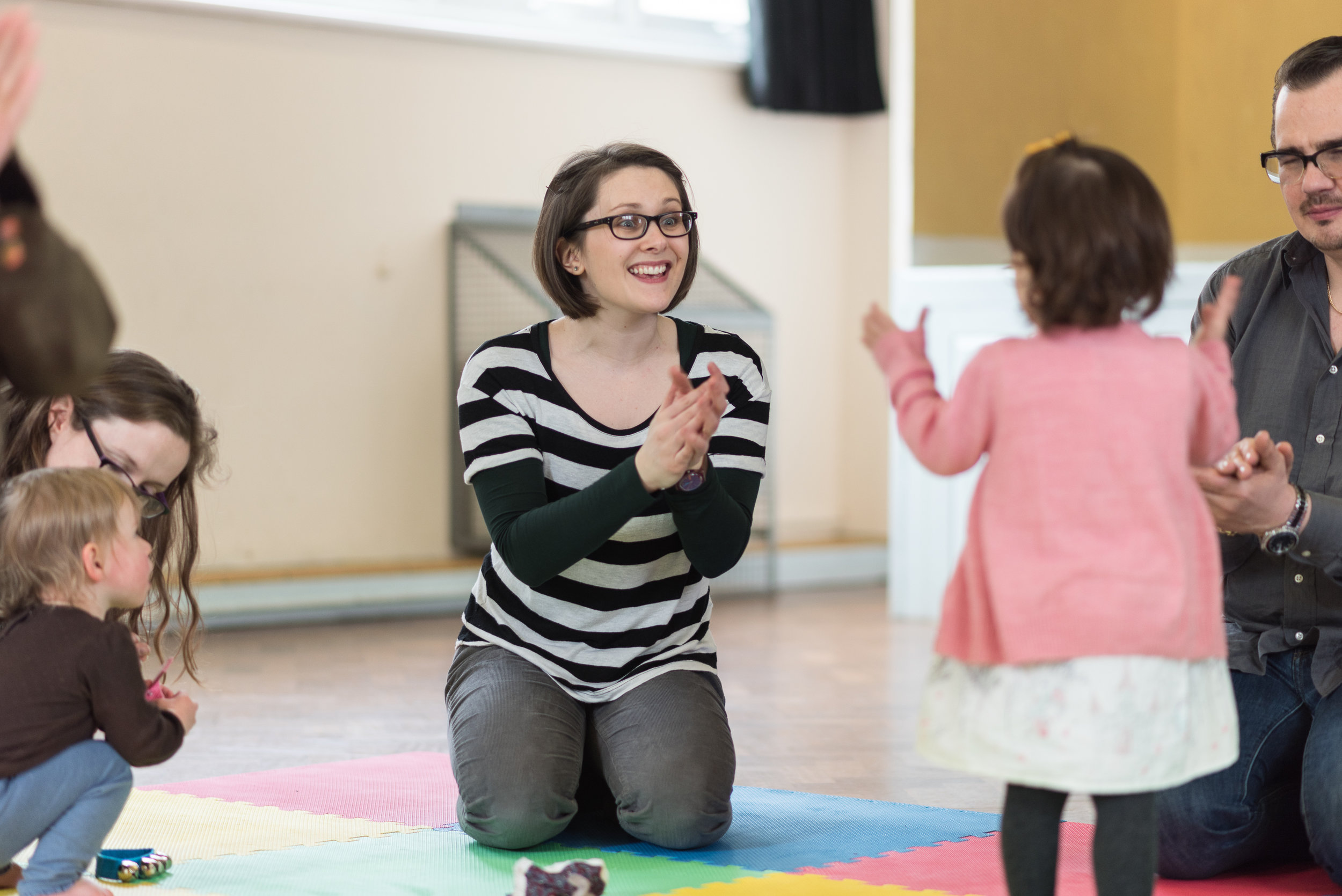 Bethan Scolding at Greenwich Early Years Music