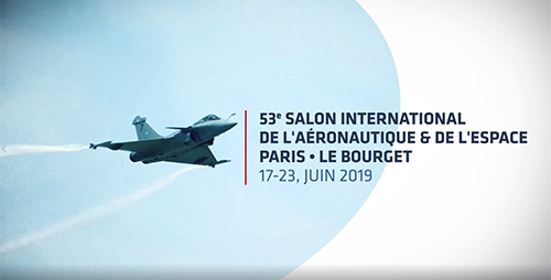 The     Paris-Le Bourget International Air Show   is one of the most important international events for the presentation of aeronautical and space equipment, taking place at Le Bourget airport, north-east of Paris.