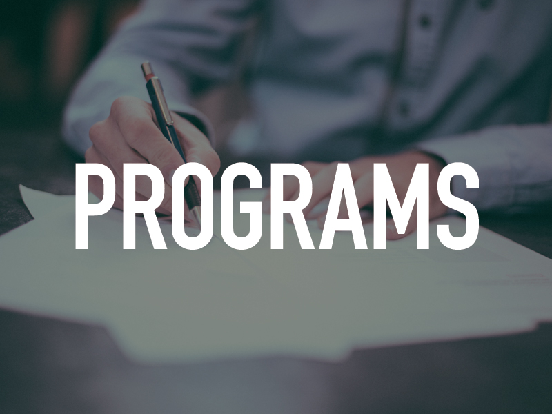 LEARN ABOUT OUR PROGRAMS
