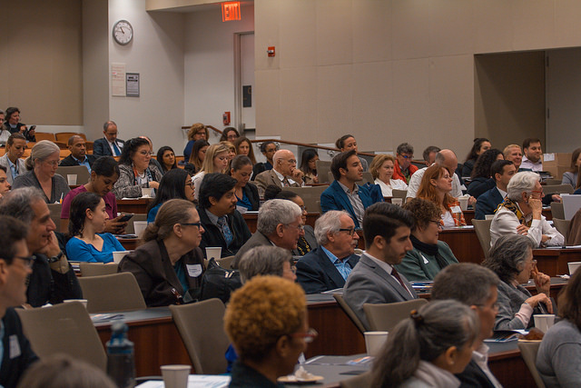 A series of regular conferences, symposia, lectures, and other events educates the public about cyberharassment by bringing together leading experts in the field.