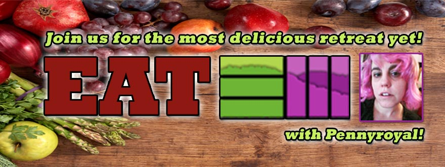 Join us for Eat EM - The most delicious retreat yet!