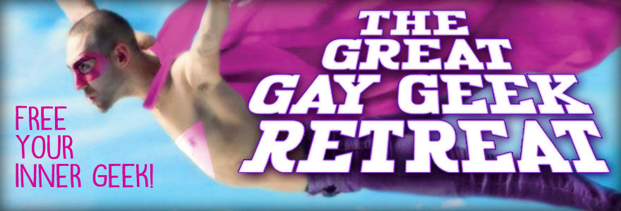 Great Gay Geek Retreat 2016 Logo Banner