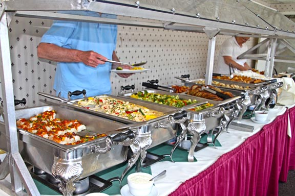 Food served on the ship