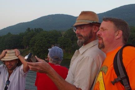 John Stasio and Hunter Reynolds
