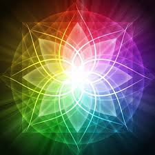 Rainbow spirituality image.