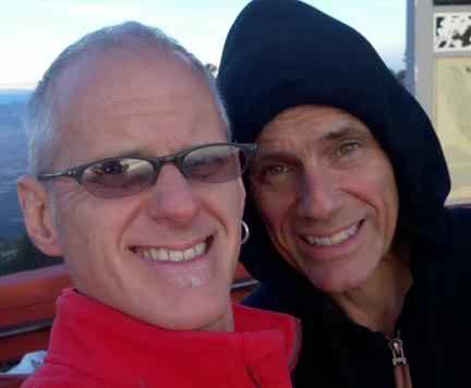 Photo of Rob and Steve