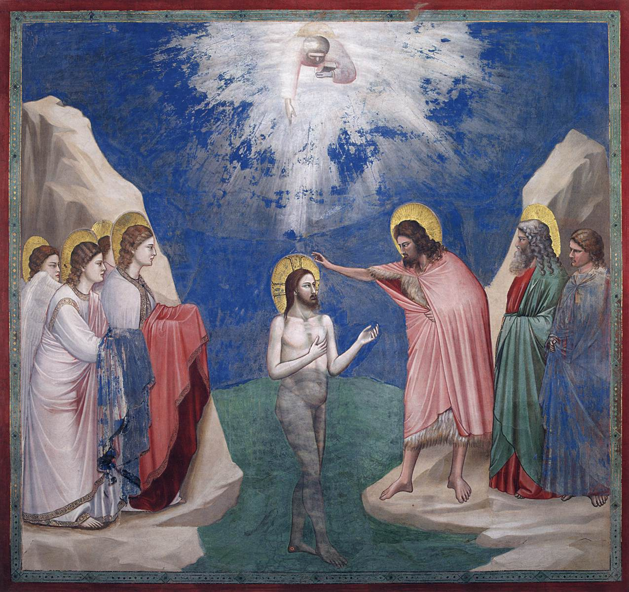 Giotto: Baptism of Christ