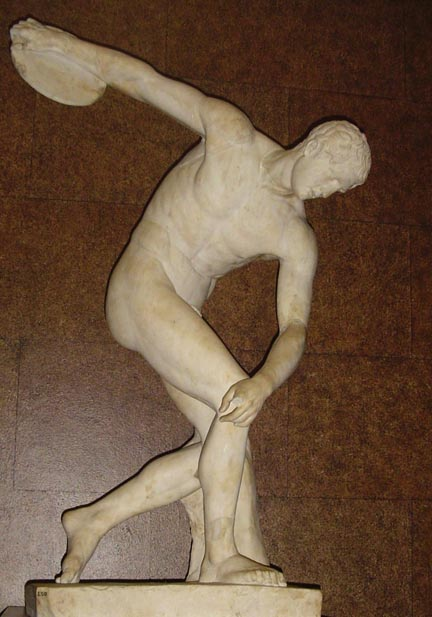 Nudity became the rule at the Olympics - not only for foot races, but for discus, wrestling, and most other competitions that were added to the festival.