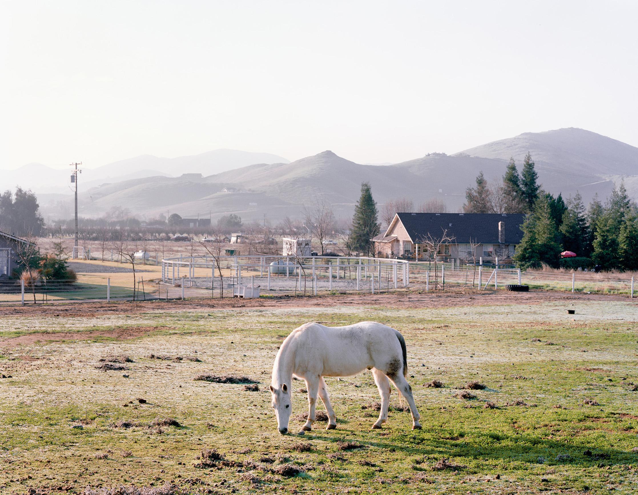 Near Bakersfield, California