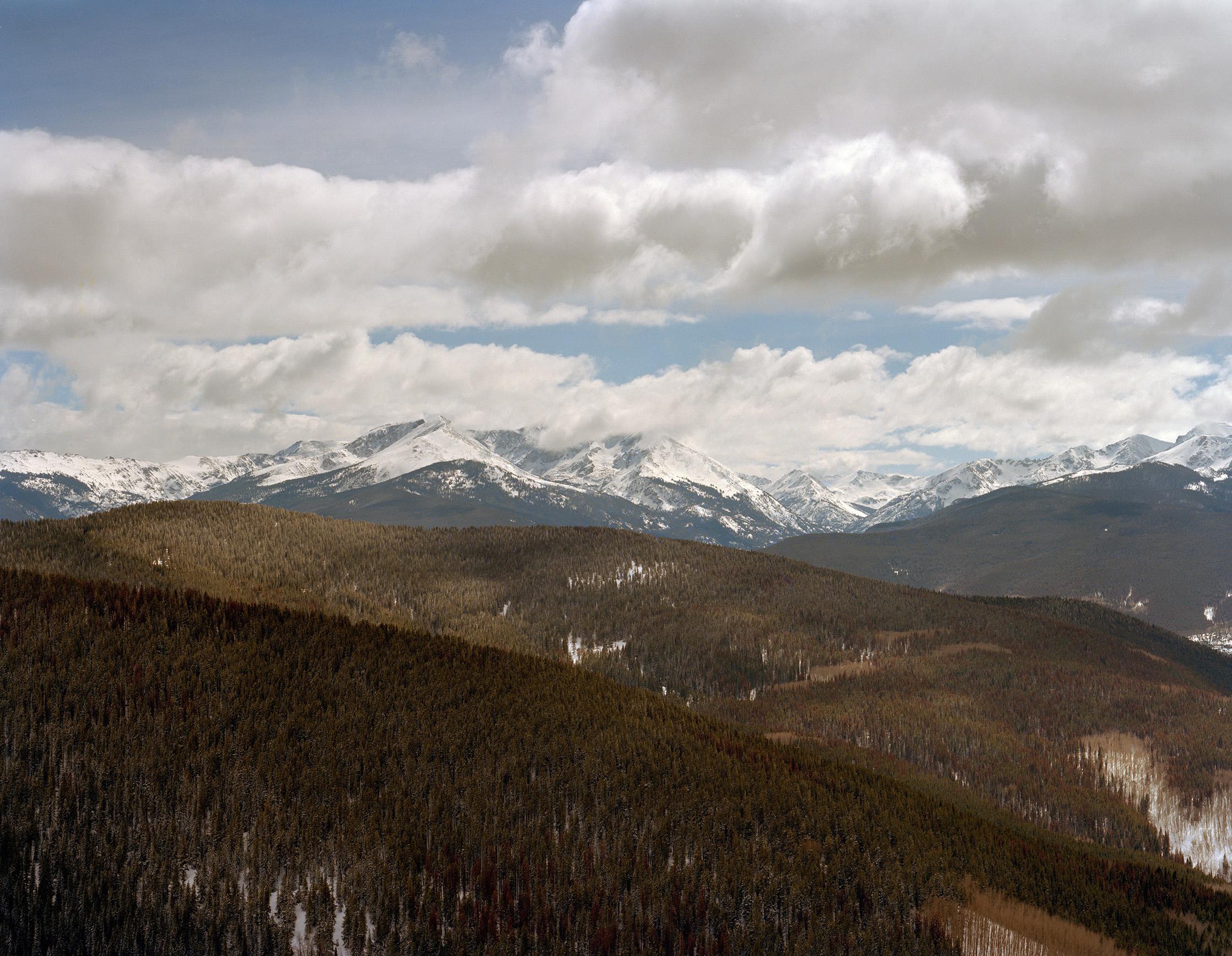 Toward Edwards, Colorado
