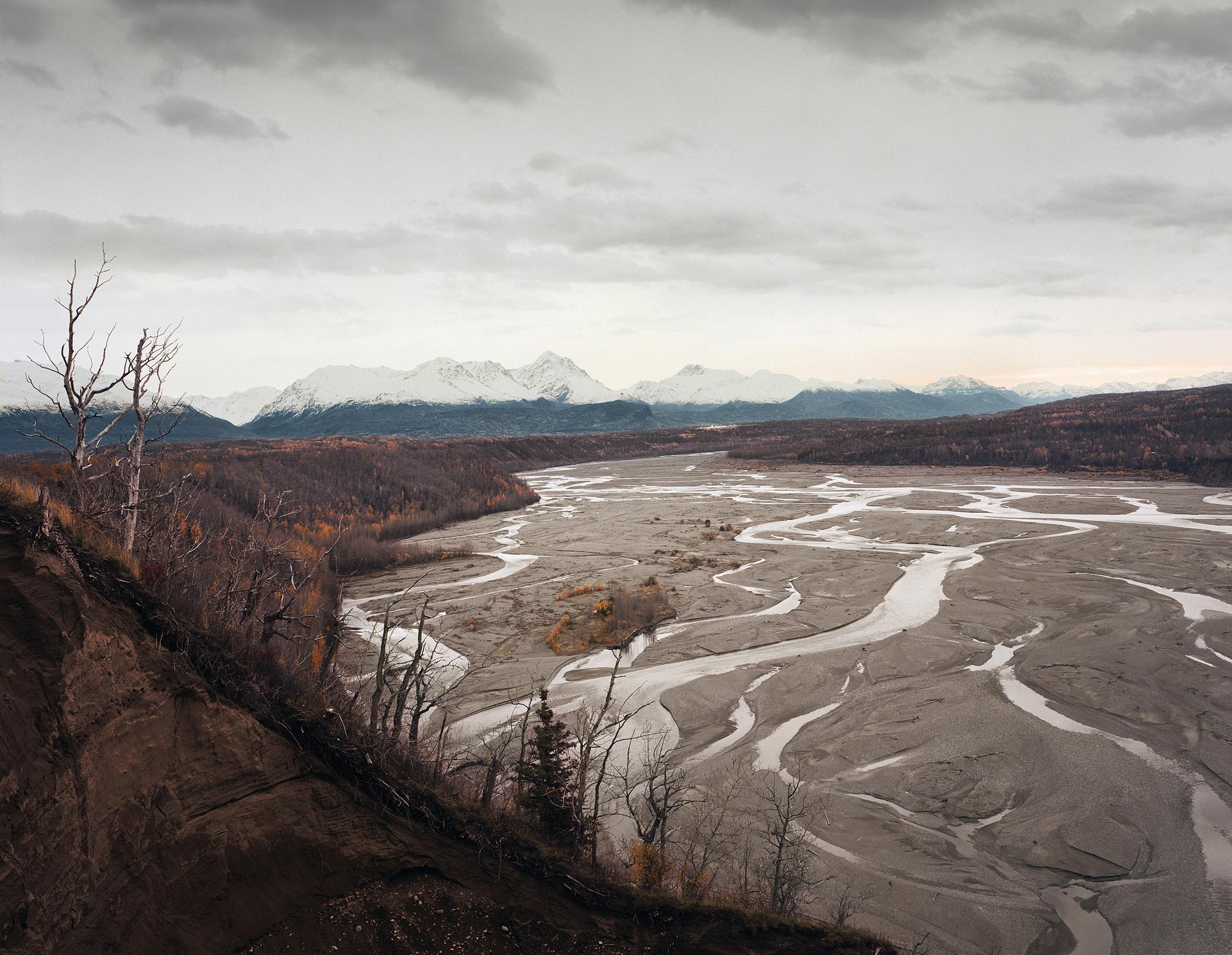 Toward Palmer, Alaska