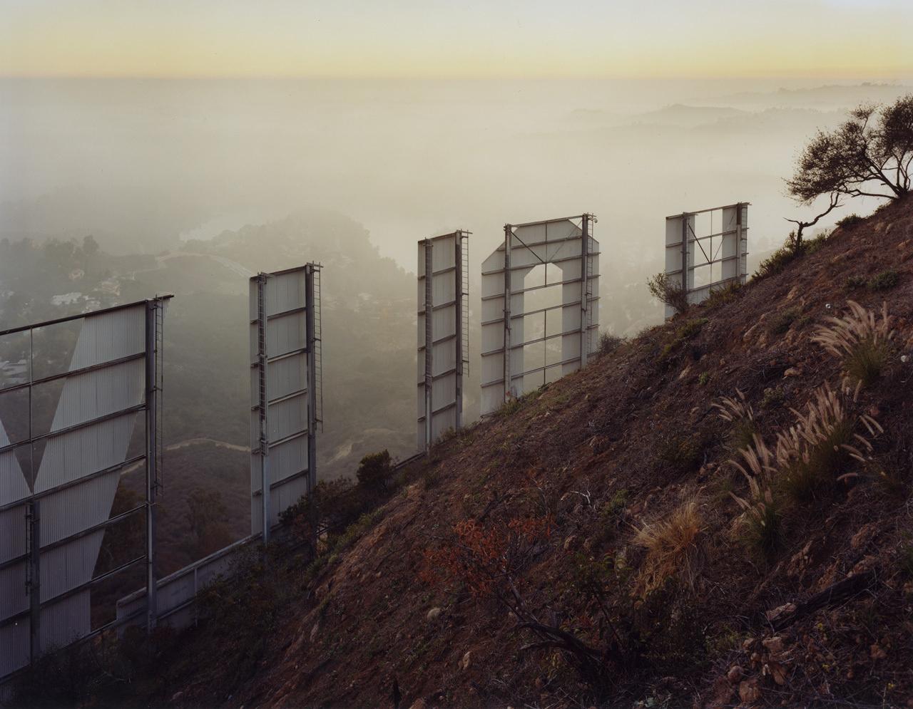 Toward Hollywood, California