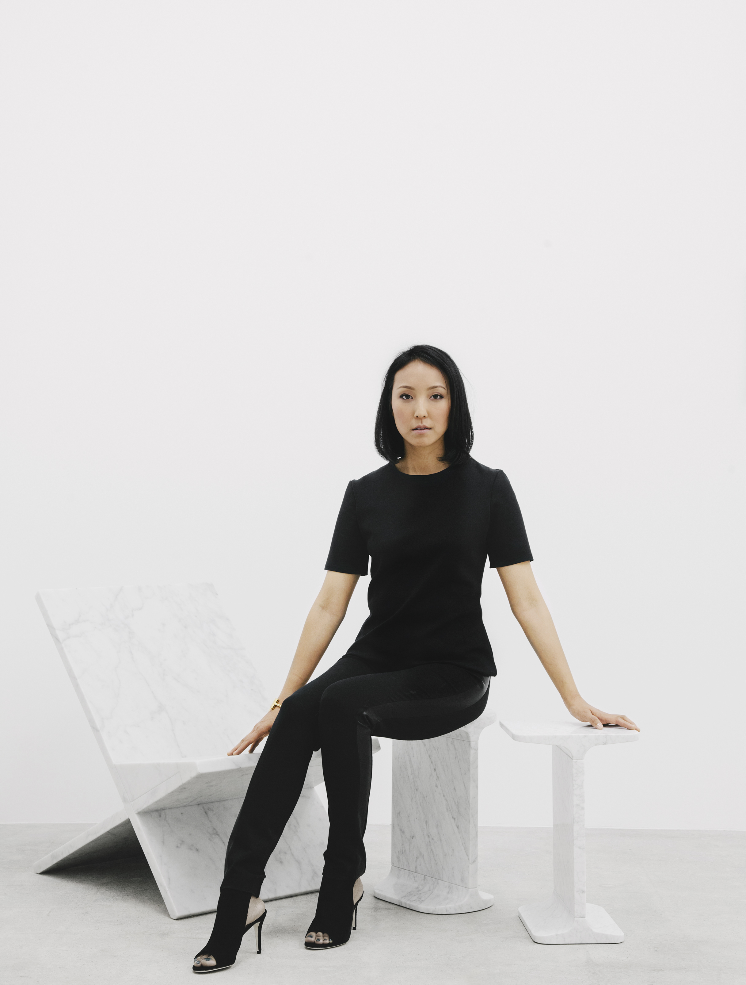 Esther Kim Varet - I wanted it to feel like a mausoleum --a place where you wouldn't be able to figure out what was going on without further inspection