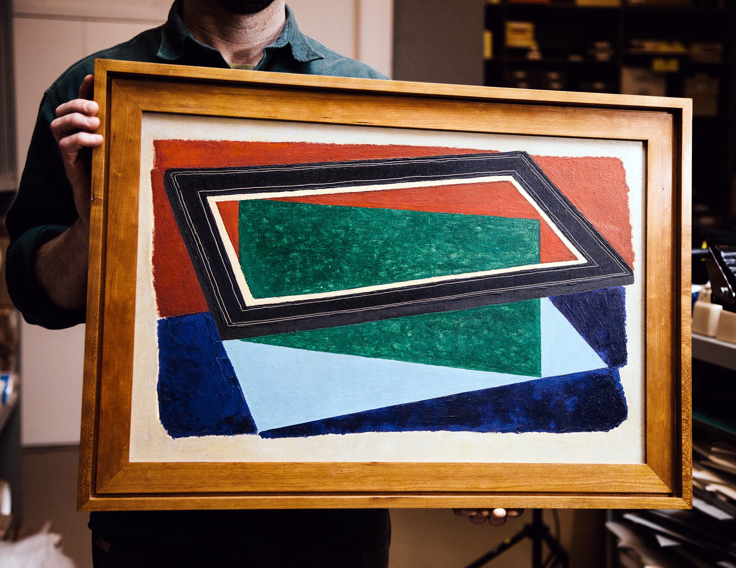 "Josef Albers, ""Black Frame"" (1932.)"