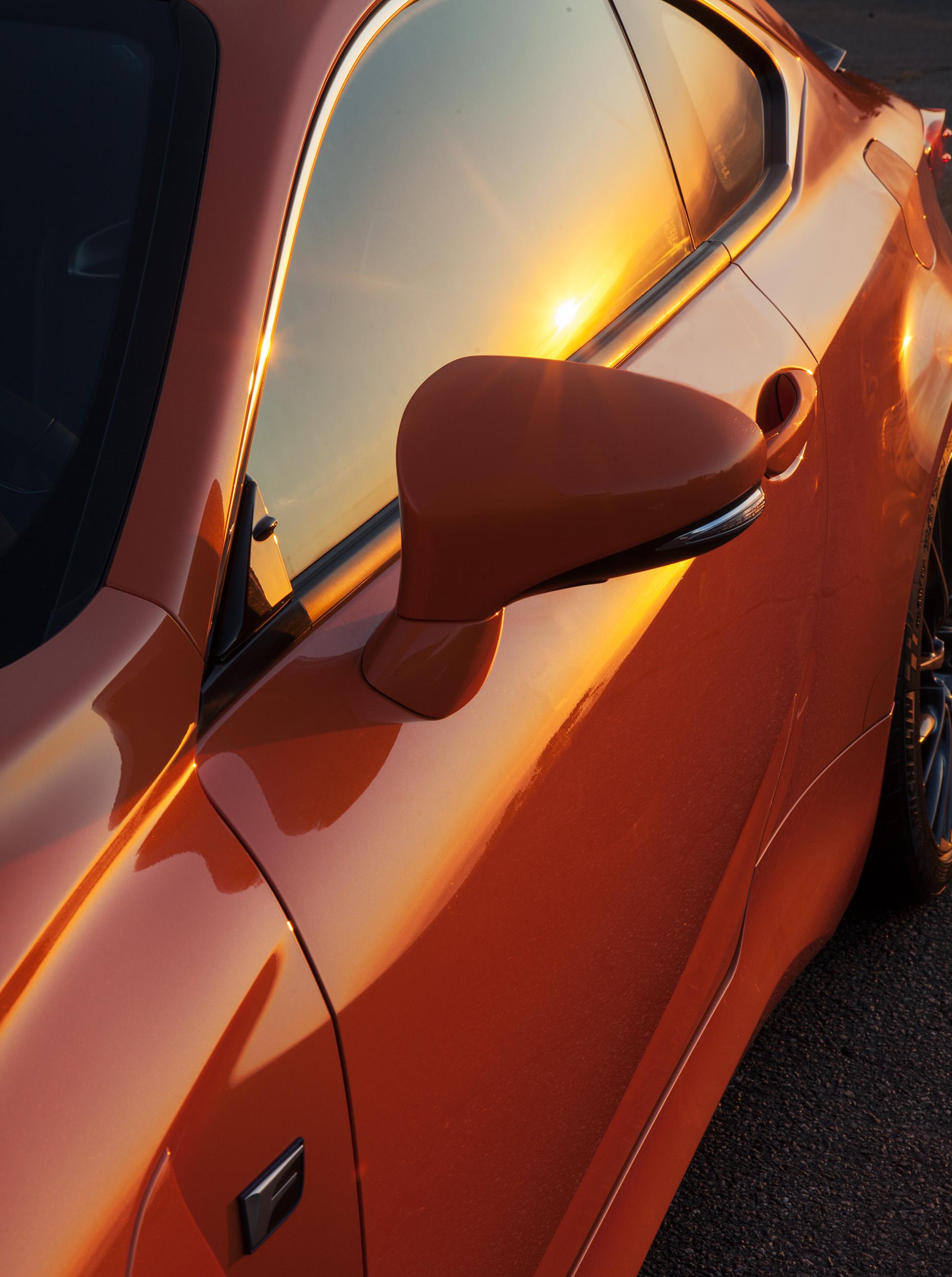Ahead of the Curve: Lexus RC-F - Winkreative London