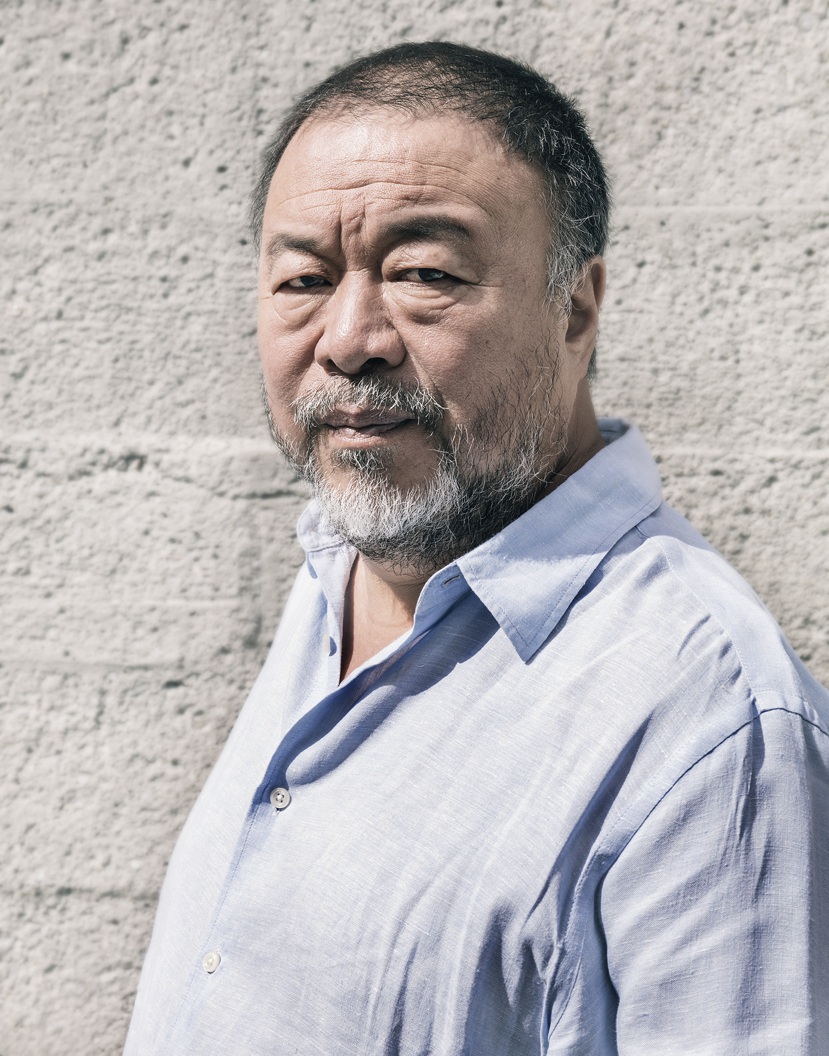 """Ai Weiwei - """"When you talk about 'America First', then I think of who comes second, third and the rest. Inevitably, America's future relates to the world's future. It will continuously have a strong impact.""""MonocleUTA Artist Space (Los Angeles)"""