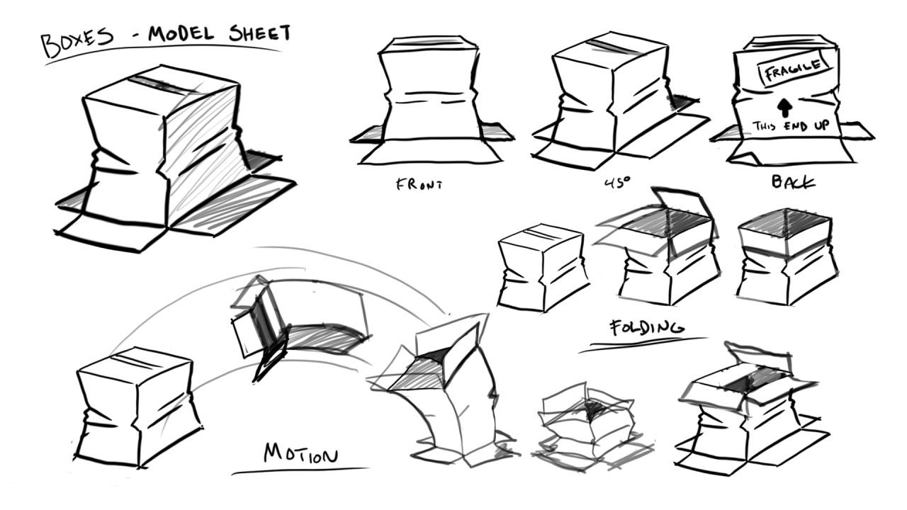 Boxes - Model Sheet